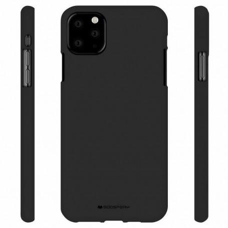 Coque Goospery Soft Feeling pour iPhone 11 Pro Noir