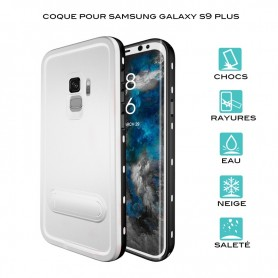 Coque waterproof pour Samsung Galaxy S9 Plus