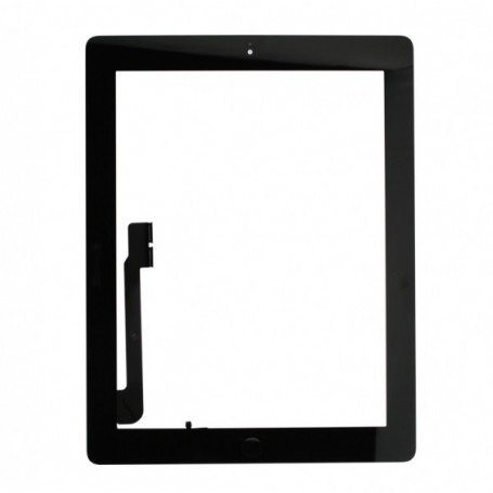 """Vitre tactile noire pour iPad 4e 9,7"""" A1458-A1460"""