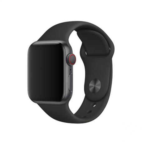 Bracelet Sport Apple Watch 42 mm Noir