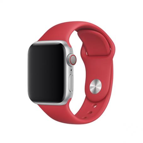 Bracelet Sport Apple Watch 42 mm Rouge