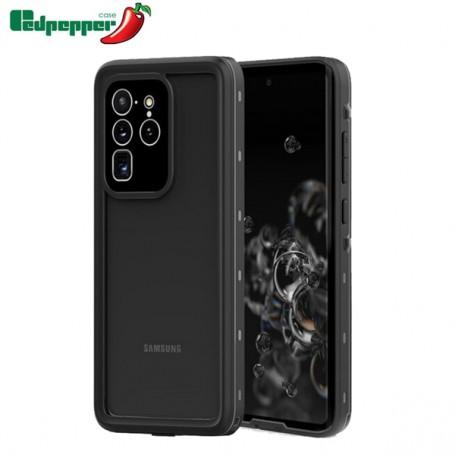 Samsung Galaxy S20+ Coque Waterproof Redpepper Antichoc Noire