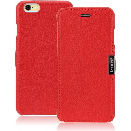 iPhone 6/6S Etui de luxe Litchi Pattern Rouge