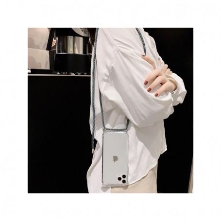 Coque Antichoc Avec Cordon Noir Pour iPhone 11 Pro Max