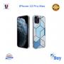 Coque Motif Marbre Bleu iPhone 7/8 Plus X XR XS XS MAX 11 11PRO  PRO MAX 12 12PRO 12PRO MAX