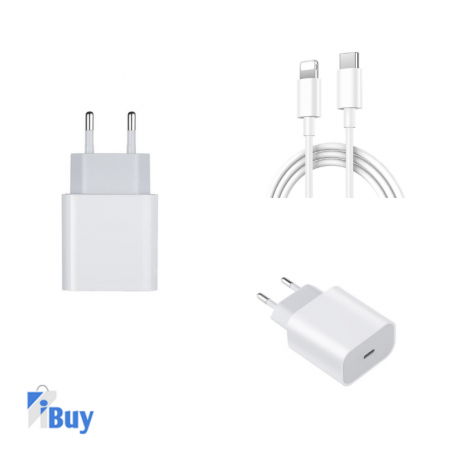 Chargeur rapide 18w USB-C vers lightning Chargeur iPhone