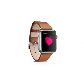 Etui iWatch cuir Marron