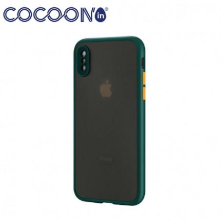 Coque COCOON'in MYST iPhone 12 Vert