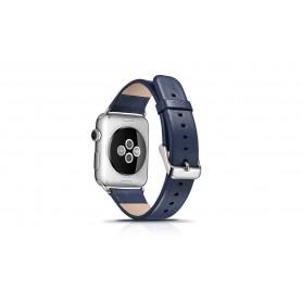 Bracelet cuir iWatch noir
