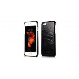 Etui cuir iPhone 6/6s noir