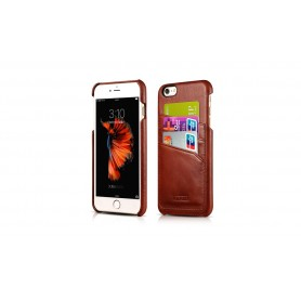 Etui en cuir pour iPhone 6 6s Marron