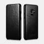 SAMSUNG S9 ETUI NOIR EN CUIR DE LUXE CURVED EDGE SERIE VINTAGE