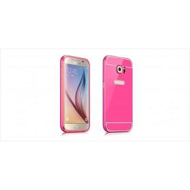 Bumper pour Samsung S6 Edge rose