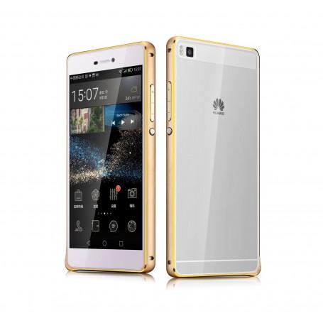 Bumper pour Huawei P8 gold
