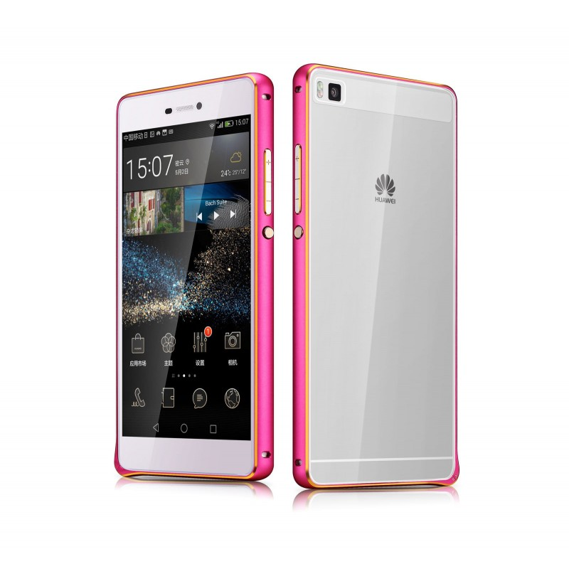 Coque pour Huawei P8 rouge