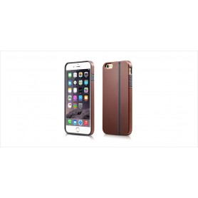 Coque iPhone 6 Plus 6s Plus Marron