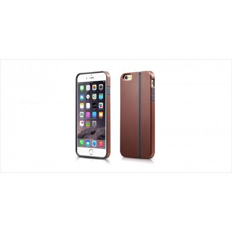 Coque iPhone 6 Plus 6s Plus Marron