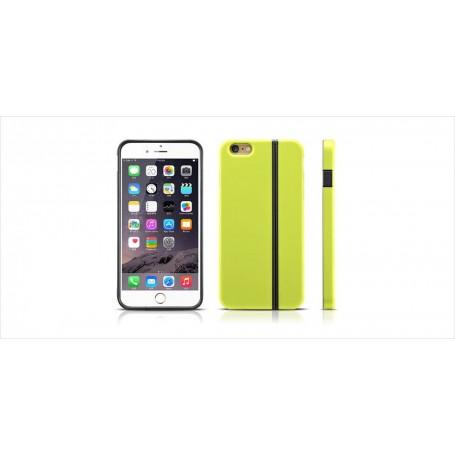 Phone 6 Plus/6s Plus Coque Verte TPU modèle Divinity