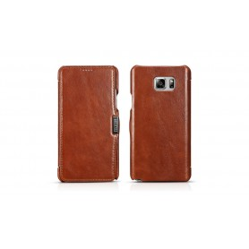 Etui Samsung Note 5 marron