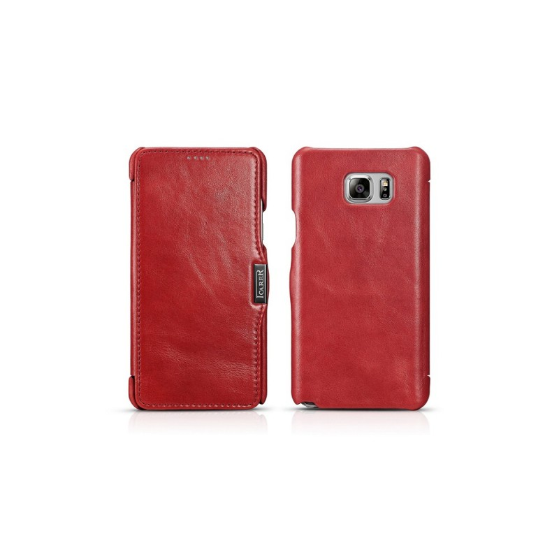 Etui Samsung Note 5 rouge