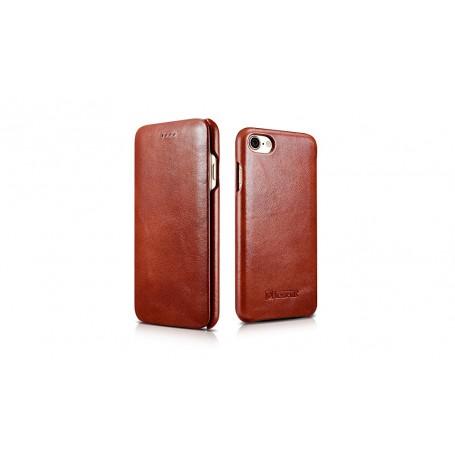 Etui cuir pour iPhone 7 / 8 marron