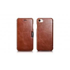 Etui cuir iPhone 7/8 marron