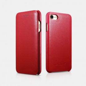 Etui en cuir rouge iPhone 7/8