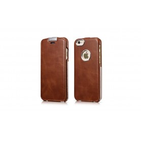 Etui cuir iPhone 6 6s marron