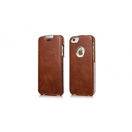 Etui cuir iPhone 6 6s marron