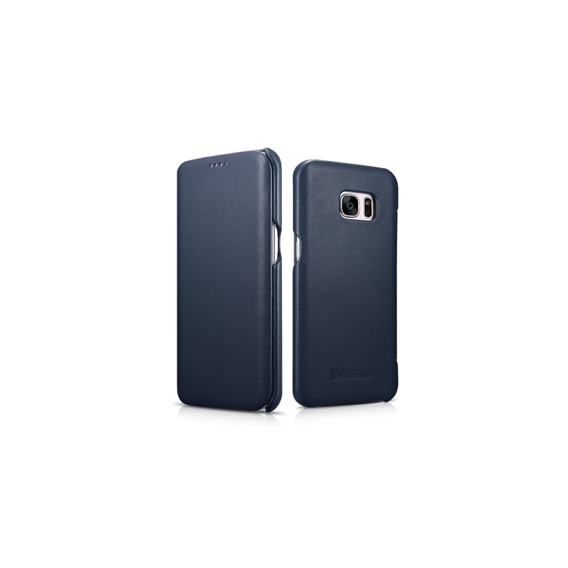 Etui Galaxy S7 Edge bleu