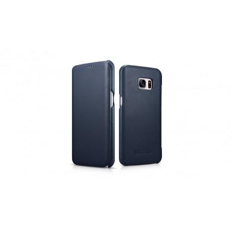 Etui Galaxy S7 Edge bleu