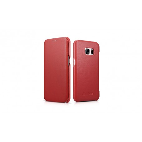 Etui Galaxy S7 Edge Rouge