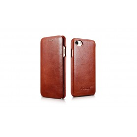 Etui cuir iPhone 7 Plus/8 Plus Marron
