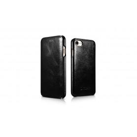 Etui cuir iPhone 7 Plus/8 Plus noir