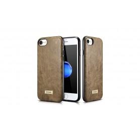 Etui cuir pour iPhone 7/8 vert