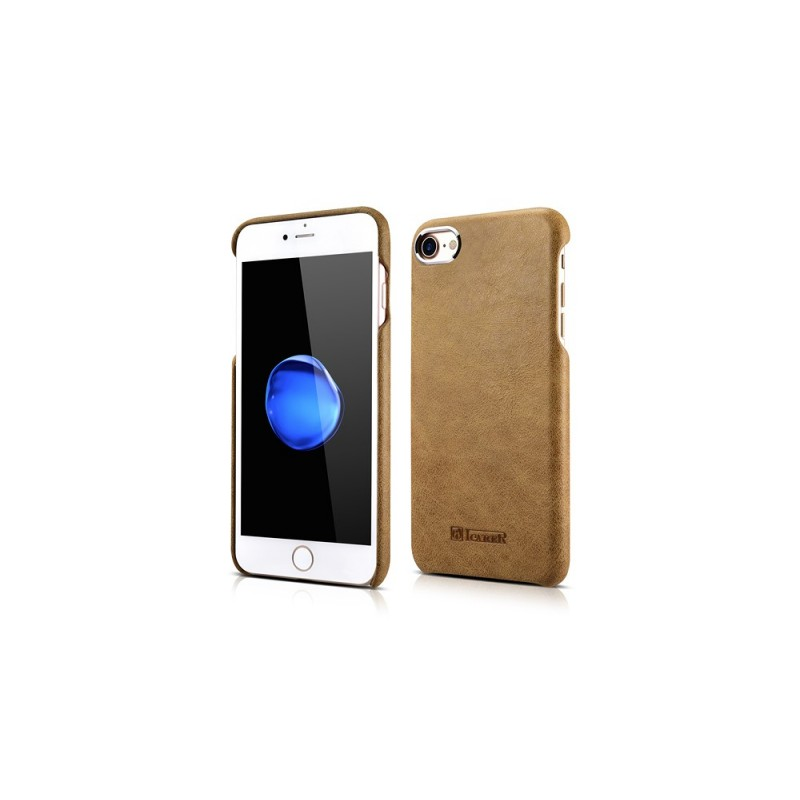 Etui cuir iPhone 7/8 marron