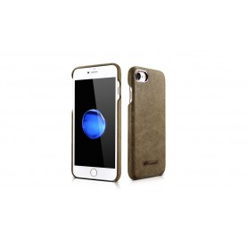 Etui cuir iPhone 7/8 vert