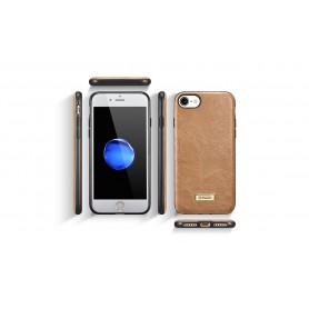 Etui cuir pour iPhone 7/8 marron
