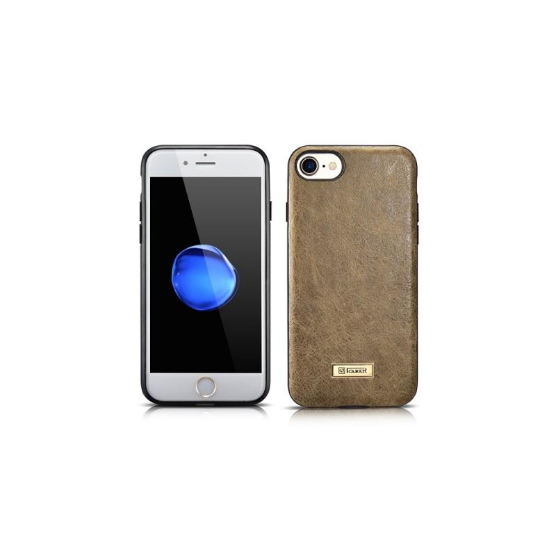 Etui iPhone 7 Plus et iPhone 8 Plus cuir