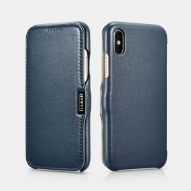 Etui iPhone X XS bleu