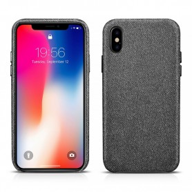 Coque iPhone X noir