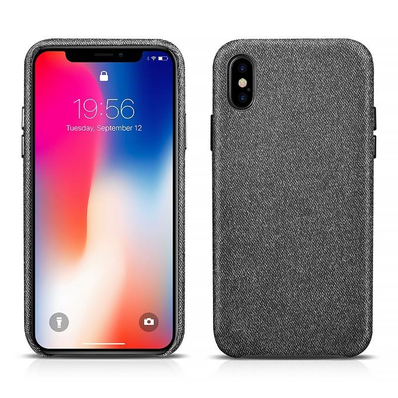 Coque iPhone X noir