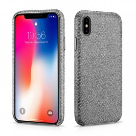 Coque iPhone X gris