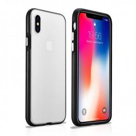 Coque arrière iPhone X XS blanc