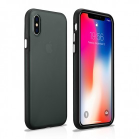 Coque arrière iPhone X XS noir