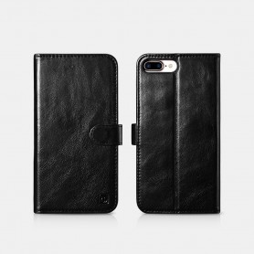 iPhone 7 Plus / iPhone 8 Plus Etui en cuir véritabl