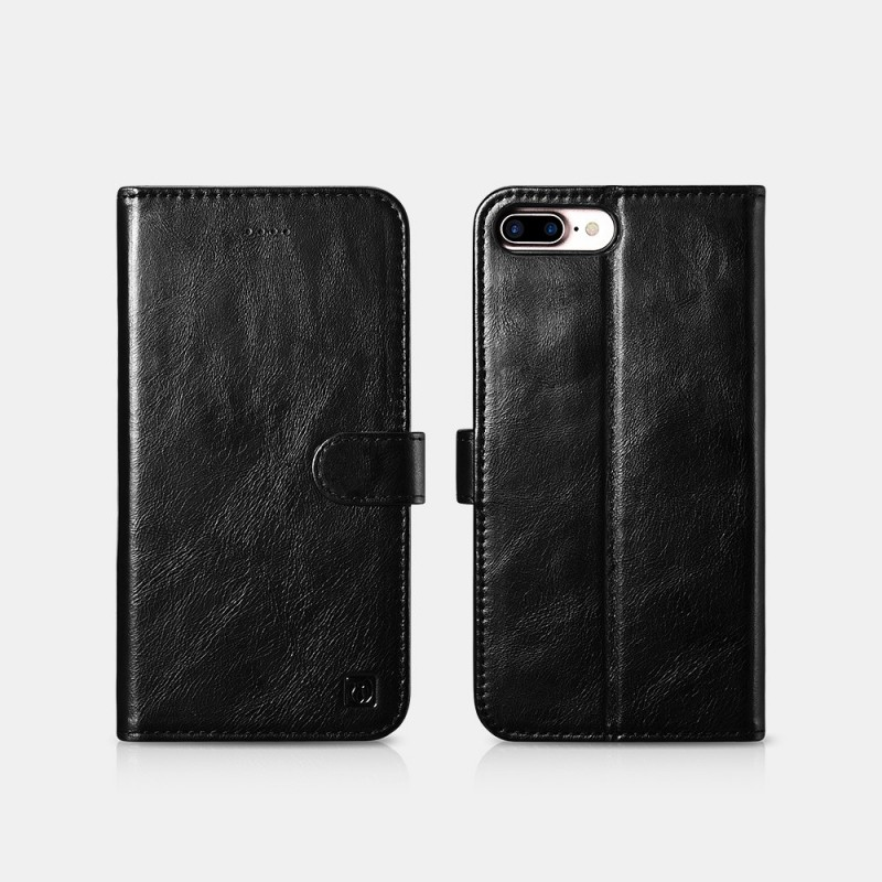 iPhone 7 Plus / iPhone 8 Plus Etui en cuir véritabl