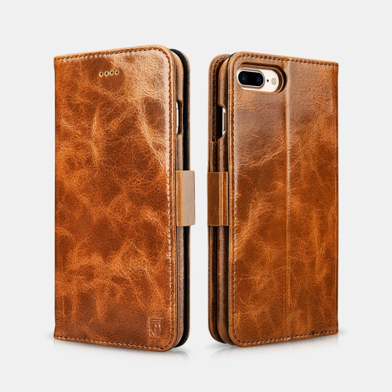 iPhone 7 /8 oil wax Leather