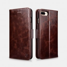 iPhone 7 /8 Plus oil wax Leather