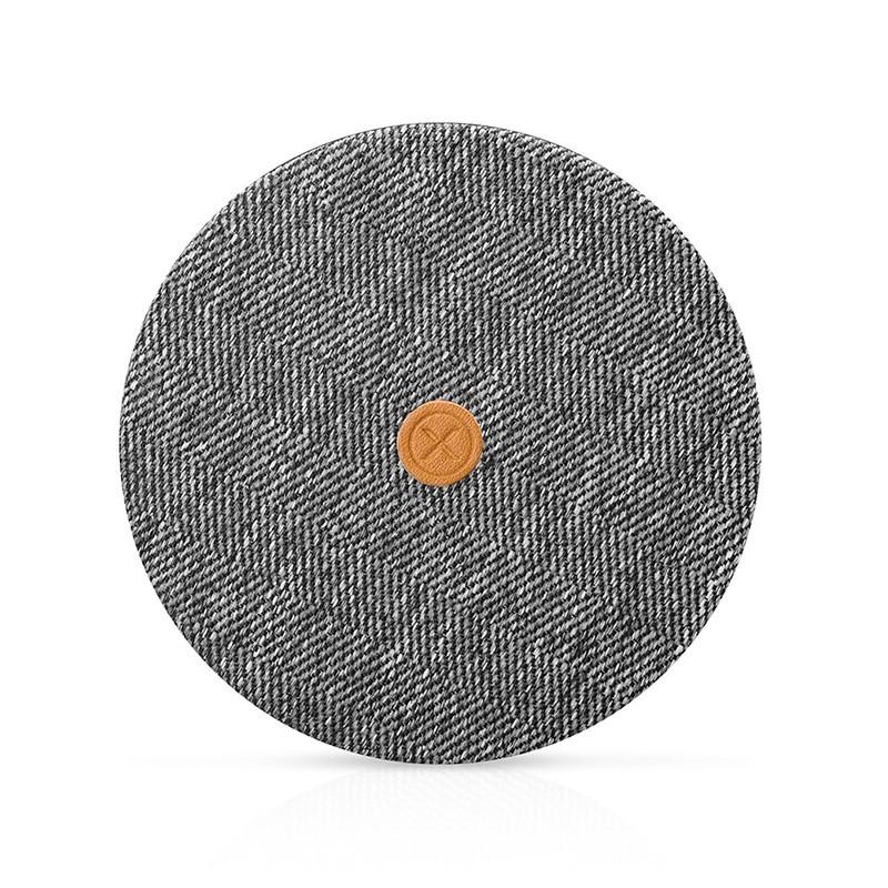 chargeur sans fil universel pour smartphone charge rapide gris. Black Bedroom Furniture Sets. Home Design Ideas